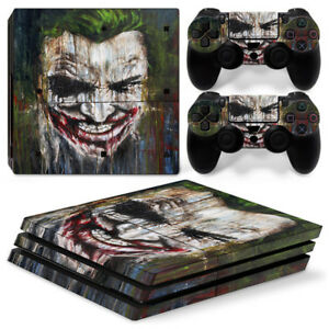 Batman Joker For Sony playstation PS4 PRO Console Stickers & 2 Controllers Skin