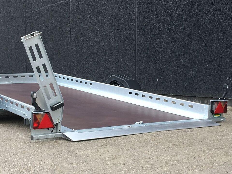 Motorcykeltrailer, UNSINN 375 x 180 x 15 cm. (type AS)