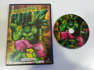 EL-INCREIBLE-HULK-DVD-3-EPISODIOS-SERIE-TV-ANIMACION-MARVEL-ESPANOL-ENGLISH-AM