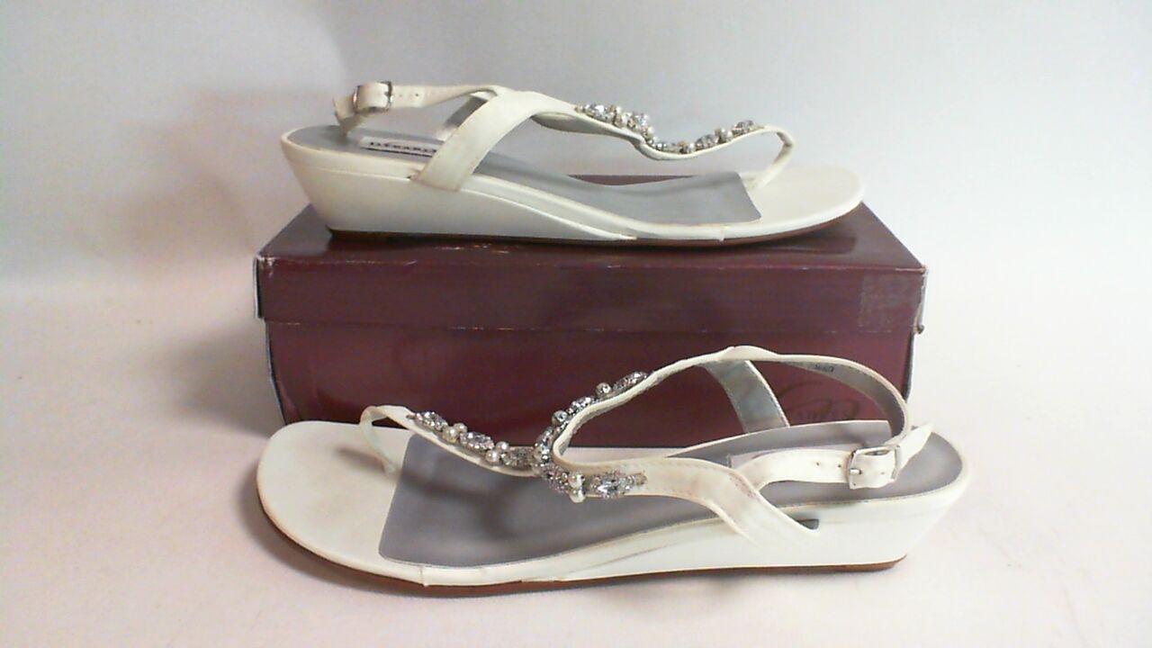 New Dyeables Wedding Shoe - Ivory Satin - Myra - US 12 D UK 10 #1L308