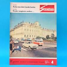 Der Deutsche Straßenverkehr 4/1970 DDR Saporoshez 966 A Moskwitsch 412 Jalta F