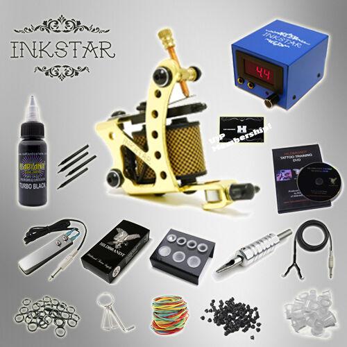INKSTAR 1 Machine Tattoo Kit Equipment Ink Gun Set Tatoo TKI1 USA