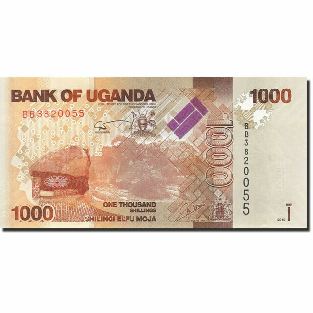 2010 UGANDA 1000 SHILLINGS P 49 UNC   BANKNOTE  AFRICA