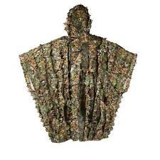 3D Breathable Camouflage Ghillie Sniper Poncho Suit Kit/Cloak/Manteau Solid Mesh