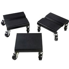 1500 LBS Snowmobile Roller Set 3 PCs Dolly Storage Dollies Mover Snow Mobile
