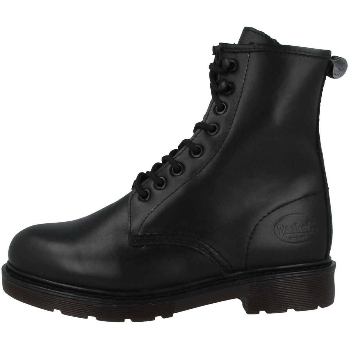 Dockers by Gerli 45EN201 Schuhe Stiefeletten Stiefel Schnürschuhe 45EN201-100100