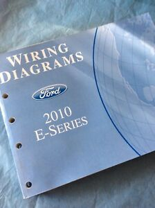 2010 Ford E350 Super Duty Van Wagon Electrical Wiring ...
