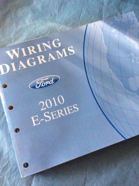 2010 Ford E350 Super Duty Van Wagon Electrical Wiring
