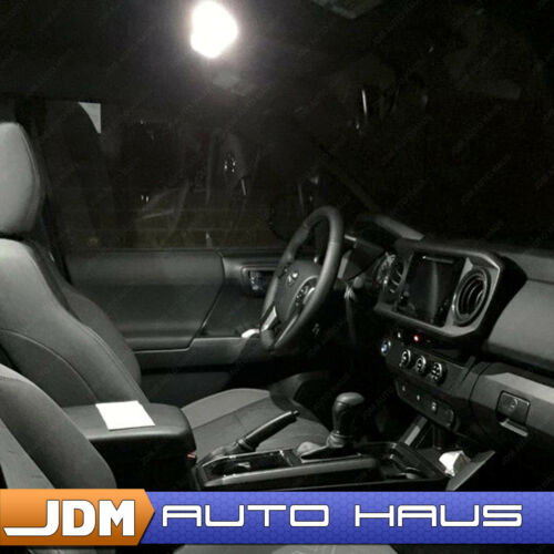 19x White Interior Map LED Lights Bulbs Package Kit Fits Toyota Tundra 2007-2018