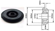 "Original 2"" (52mm) Lucas Black Rubber Bulkhead Grommet  : Part No. 54959921"