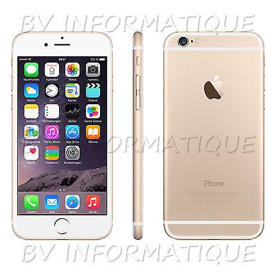APPLE Iphone 6 16 Go OR- DÉBLOQUÉ TOUT OPÉRATEUR - Garantie 6 mois