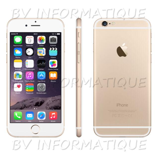 """APPLE Iphone 6S 16 Go OR- """"DÉBLOQUÉ TOUT OPÉRATEUR"""" Garantie 6 mois"""