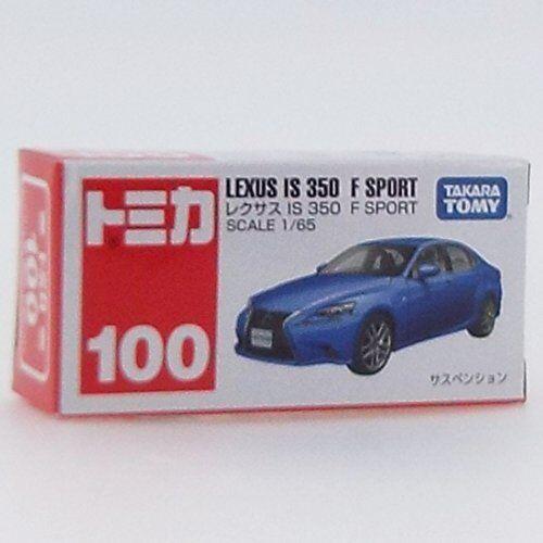TOMICA No.100 Lexus IS 350 F Sport boîte miniature voiture takara tomy