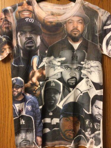 Ice Cube - White Shirt.  S.