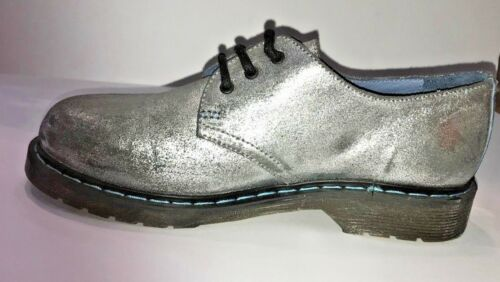 Woman Phm01wa N Donna Model Shoes 37 Philippe Scarpe Pelle Argento 7xqYpwB0WW
