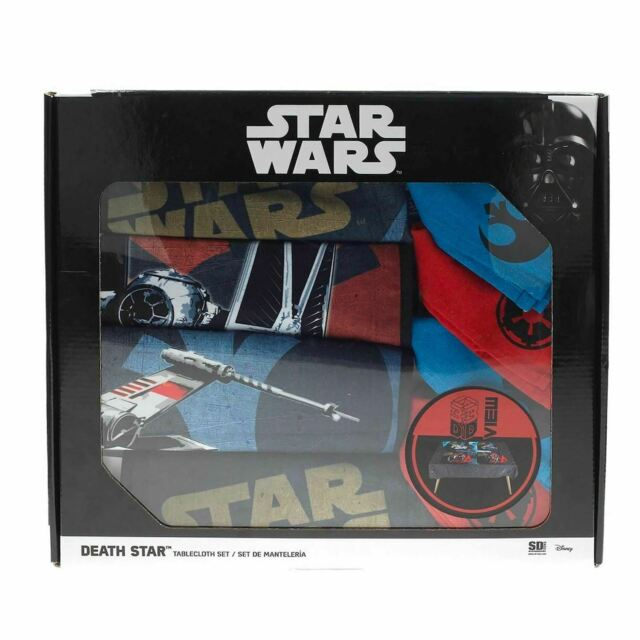 Star Wars Death Nappe de Table Ensemble+4 Napperons+4 Serviette ( SD Toys )
