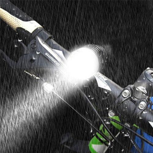 Waterproof LED Bicycle Front Light Headlamp Headlight Bike Lamp Torch