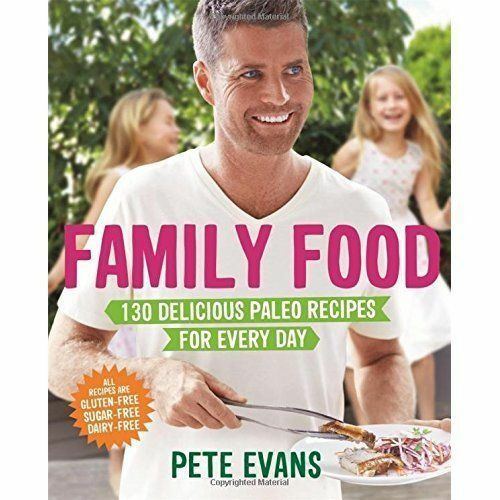 Family Food: 130 Delicious Paleo Recipes for Every Day-ExLibrary