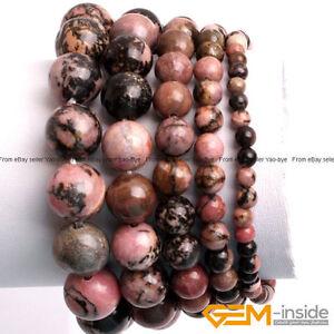 Handmade-Natural-Black-Rhodonite-Beaded-Energy-Healing-Stone-Bracelet-Gift-7-034