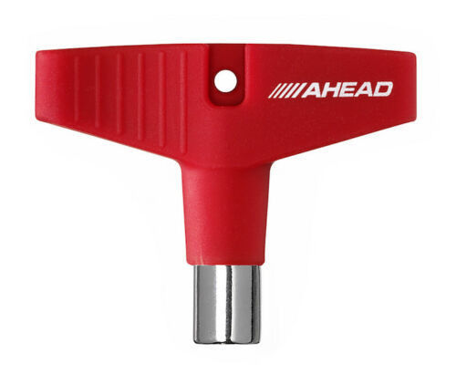 """Red Silicone Grip Ahead /""""GripKey/"""" Drum Key"""