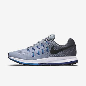 Nike Air Zoom Pegasus 33 Men Shoes 831352-004 Wolf Grey Multiple Sizes