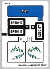 LEGO Van & Caravan City Set 60117 Camper Camping Trip Pre-built