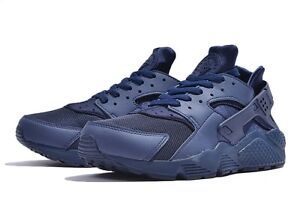 nike air huarache all blue