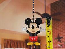 Disney Mickey Mouse Ceiling Fan Pull Light Lamp Chain K1364 A
