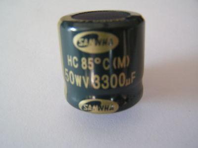 Samwha HC Snap-in Capacitor 50v 3300uf 85/'C OL0141