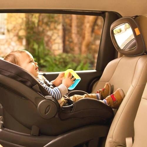 Brica Baby In Sight Mirror Rear View Backseat Visual Safety Car Driving Munchkin