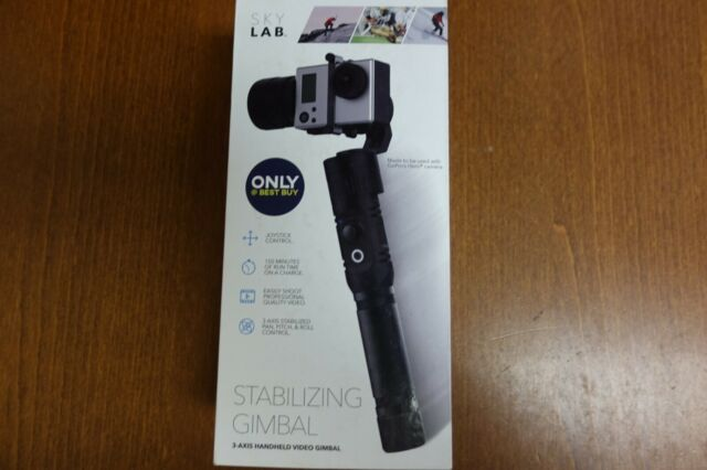 SkyLab 3-Axis Handheld Stabilizing Gimbal for GoPro Black (8C)