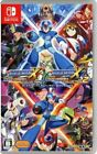 Rockman X Anniversary Collection 12 Switch Japan Limited Cool Game Blue Boy RARE