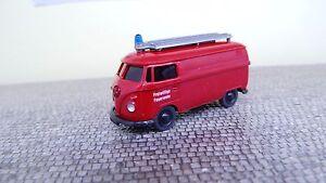 Wiking-H0-Freiwillige-Feuerwehr-VW-T1-086141-Kastenwagen-NEU-in-OVP