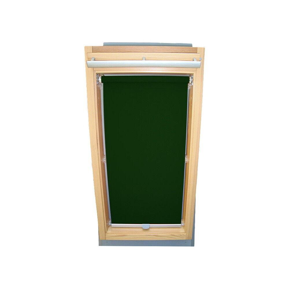 ROLLO prossoezione visiva per Braas lucernaio BK BL BKT BFT be-verde SCURO