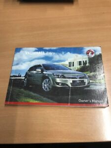 vauxhall astra h owners manual handbook guide ebay rh ebay co uk vauxhall astra owner's manual vauxhall astra owner's manual 2009