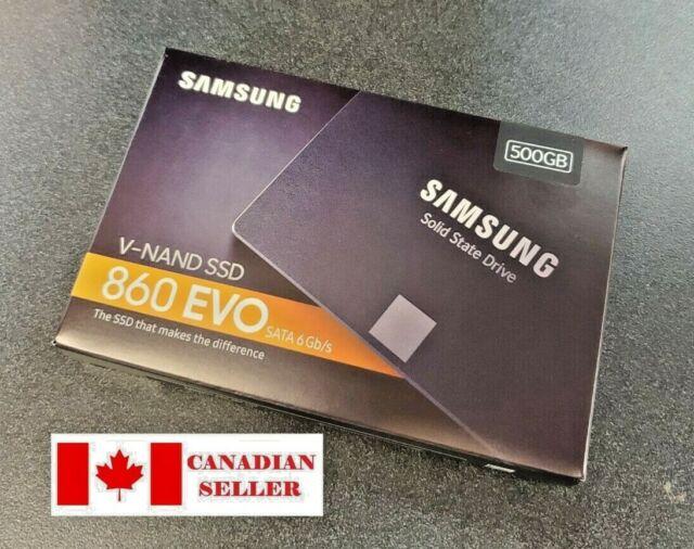 "NEW Samsung 860 EVO 2.5"" SATA III 500GB Internal SSD (MZ-76E500B/AM)"