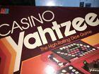 Vintage Casino Yahtzee Board Game Milton Bradley 1986 Complete