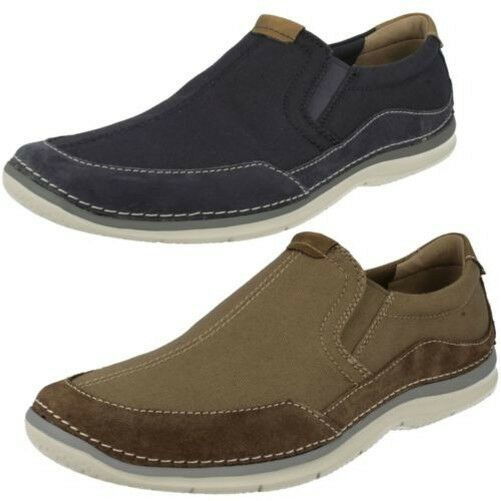 Mens Clarks Ripton Free Casual Slip On shoes