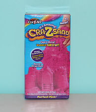 New Box  Cra-Z-Sand by Cra-Z-Art 1.5 lbs PERFECT PINK Magic Growing Sand Mold it