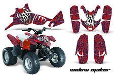 Polaris Predator 90 Quad Graphics Decal Sticker Kit ATV Outlaw Parts WIDOW MAKER