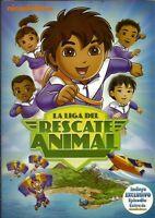 Go Diego Gola Liga Del Rescate Animal- Ultimate Rescue League (dvd, 2010)reg-14