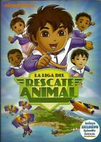 Go Diego Gola Liga Del Rescate Animal- Ultimate Rescue League (dvd, 2010)reg-14