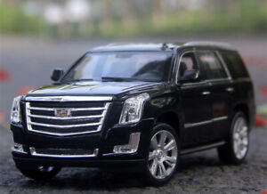 WELLY-1-24-Cadillac-2017-ESCALADE-Alloy-SUV-Car-Model-Boys-Toys-Static-Display