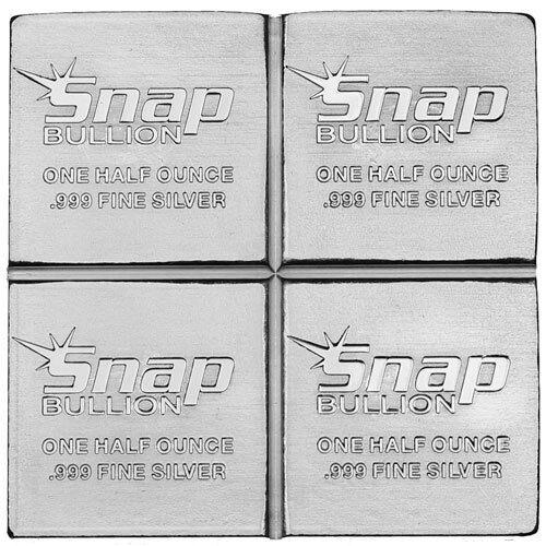 Elemetal Mint 2 oz .999 Snap Silver Bar