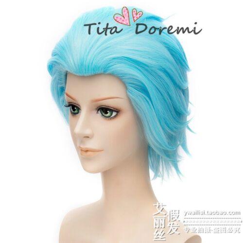 Halloween Wig Cosplay The Seven Deadly Sins Ban blue short fashion wigs Hair