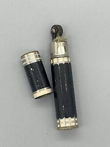 Shell Oil Vintage Lipstick Lighter Cigarette Tobacciana Gasoline Rare Rare