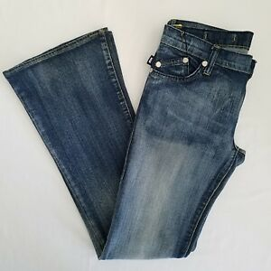 Rock-Republic-Boot-Cut-Jeans-Actual-30-x-31-Tag-27-Crystal-Roth-9051-Addict-Wash