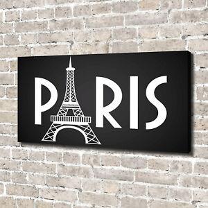 Leinwandbild-Kunst-Druck-140x70-Bilder-Paris
