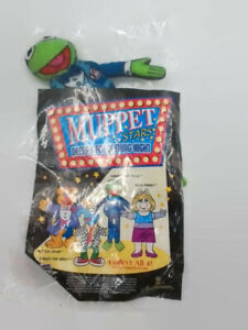 Vintage-Kermit-the-frog-Muppet-Star-Blockbuster-Play-Pak-NIP