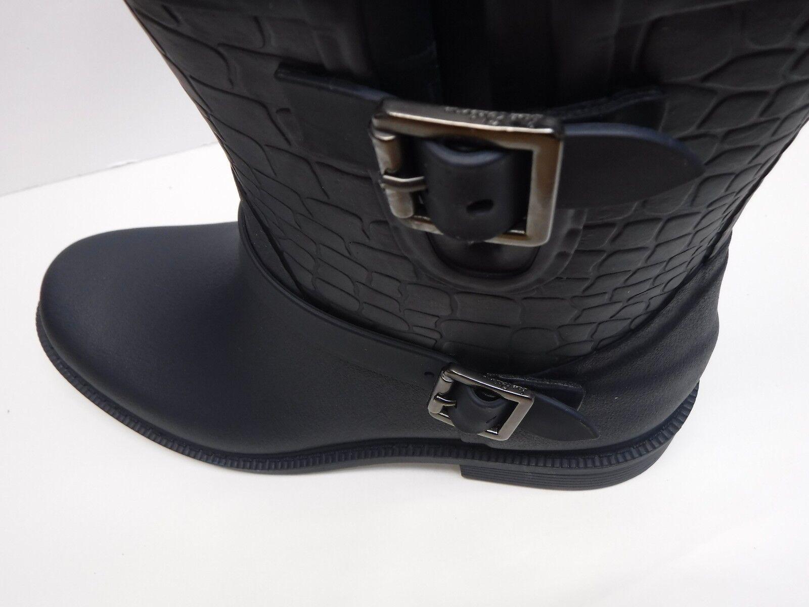Sam Edelman Größe 7 Rubber Rain Stiefel Navy Blau New Damenschuhe Schuhes
